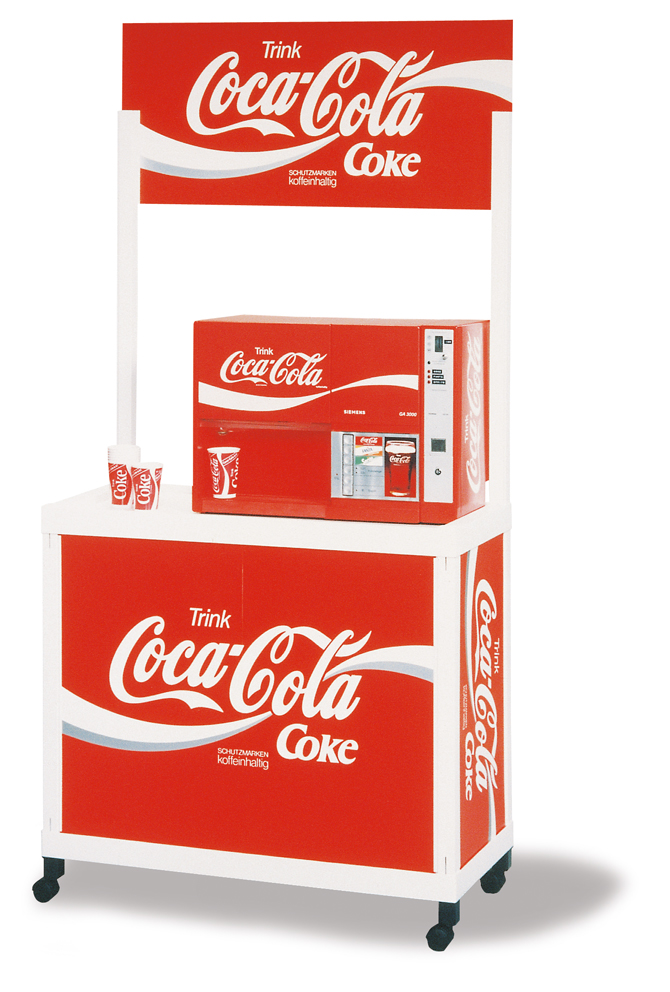 Promotional Counters Advertisement Counters Sampling